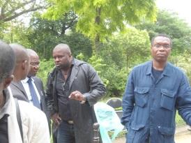 Manifestation des Congolais à Paris